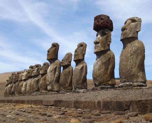Великаны на острове Пасхи
