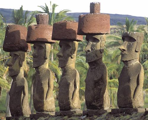 истуканы острова пасхи фото