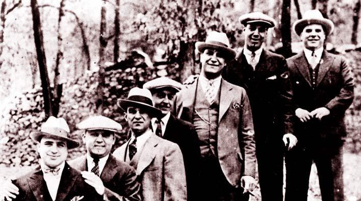 Аль Капоне и Багс Моран
