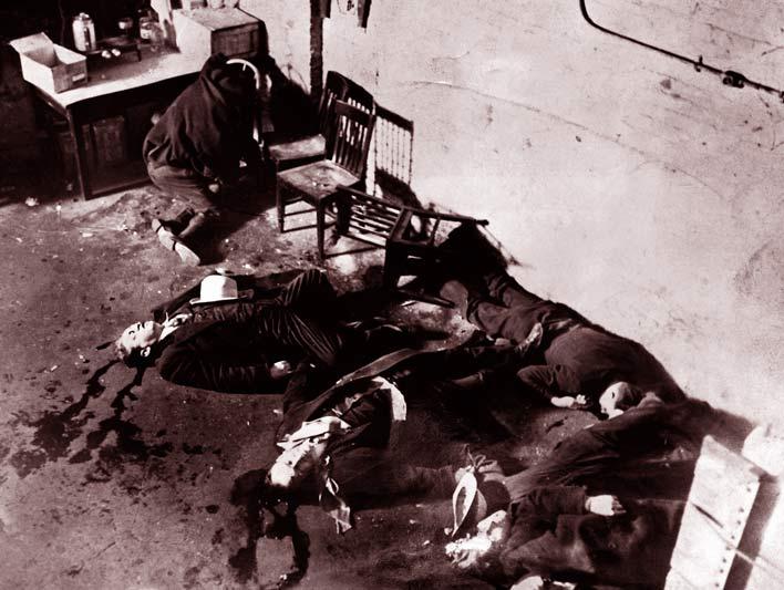 резня в день святого валентина банды аль капоне