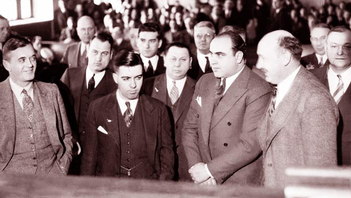 an analysis of the criminal activities and prosecution of al capone an american gangster Eliot ness and al capone: men in the prohibition bureau battling chicago gangster al capone  much to do with scarface's 1931 tax-evasion prosecution.