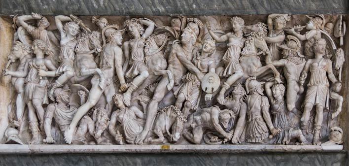 битва амазонок с греками