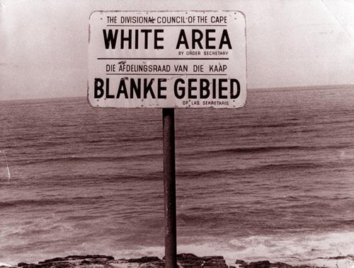 расизм при апартеиде