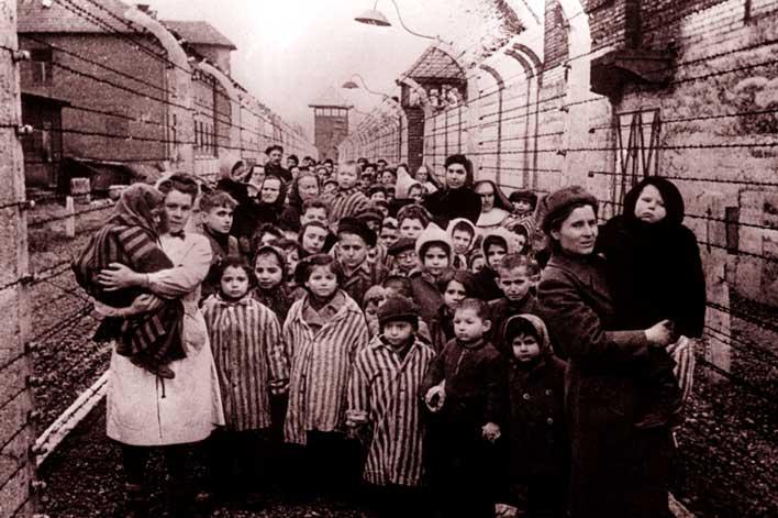 освобождение заключенных освенцима