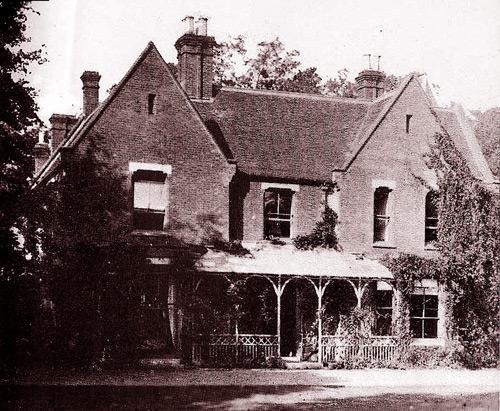 дом священника борли 1890