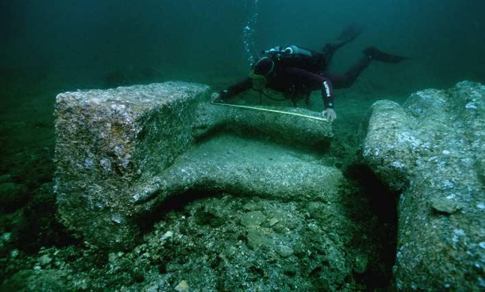 гераклион найден под водой