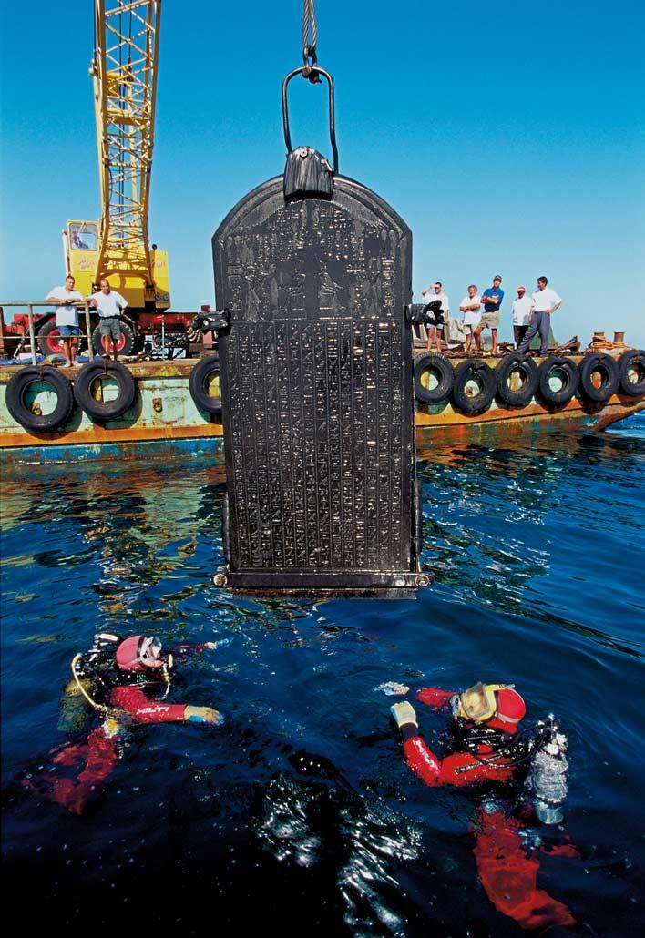 город под водой в египте