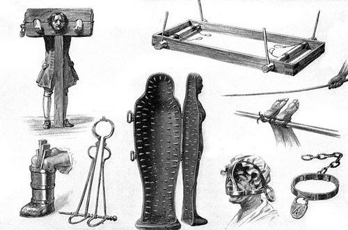 инструменты для пыток Инквизиции