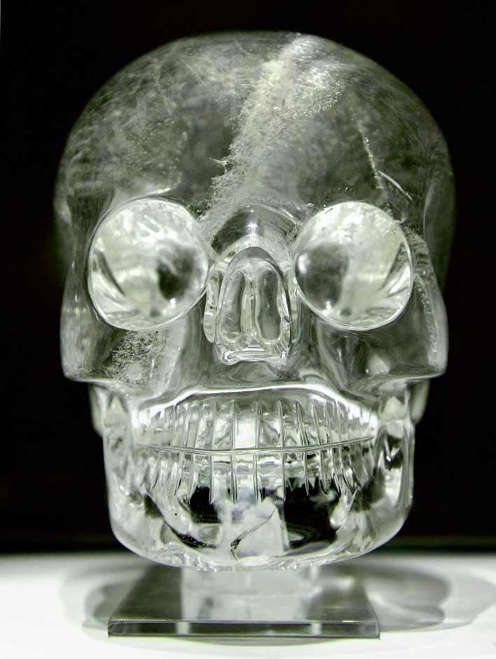 британский хрустальный череп