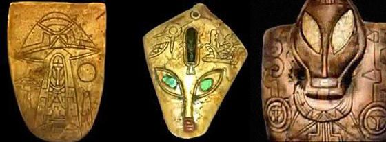 находки майя и нло