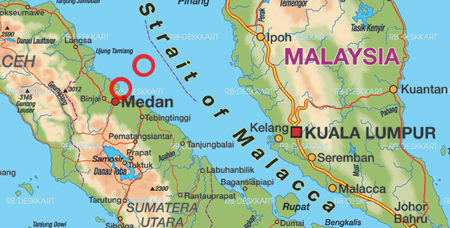 orange medan map
