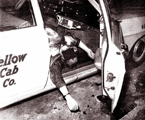 Зодиак убивает таксиста