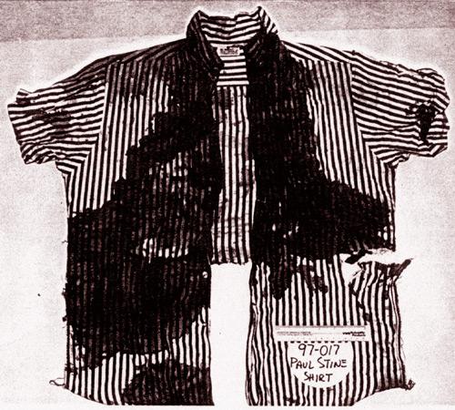 рубаха таксиста после убийства