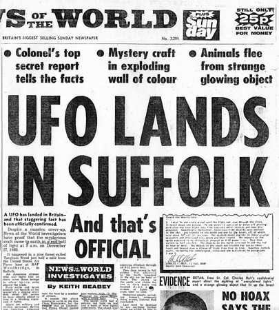 randlsham ufo newspaper