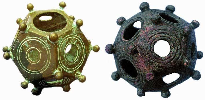римские додекаэдры фото
