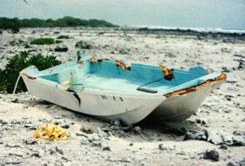 """Исчезновение экипажа лодки """"Сара Джо"""""""