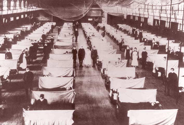 жертвы испанского гриппа