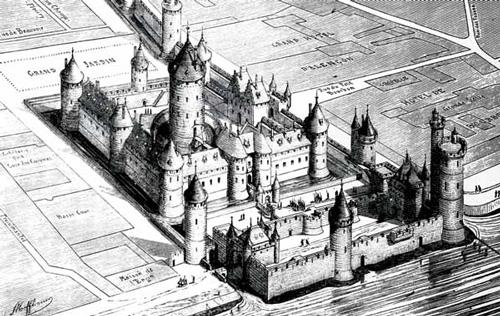 Тампль - замок Тамплиеров