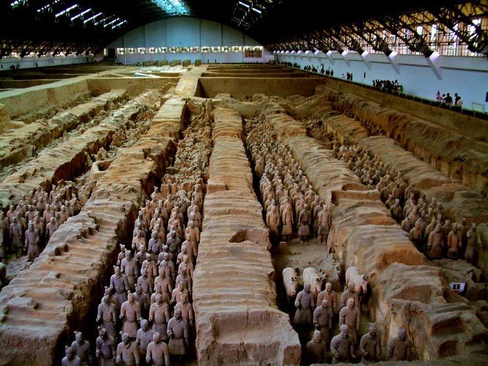каменная армия в китае