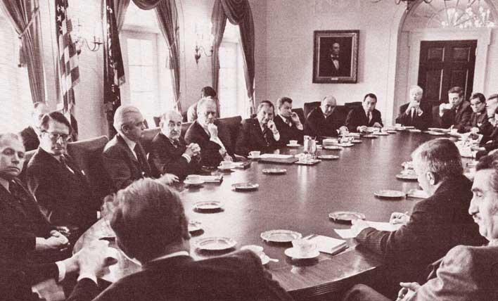 встреча трехсторонней комиссии с генри фордом 1974