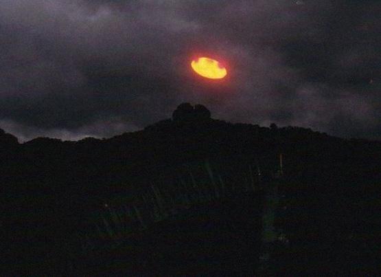 фотография НЛО в Мексике