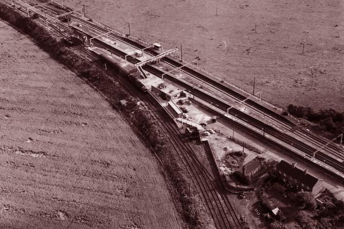 станция на которой ограбили поезд