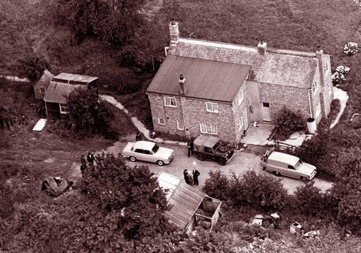 ферма где скрывались грабители 1963