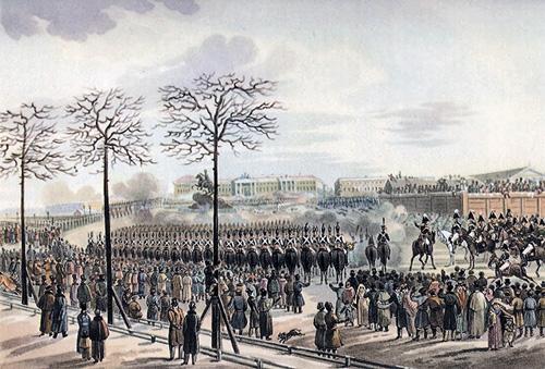 выступление декабристов на Сенатской площади