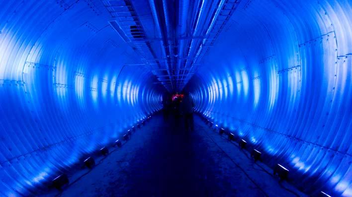 тунель зернохранилища