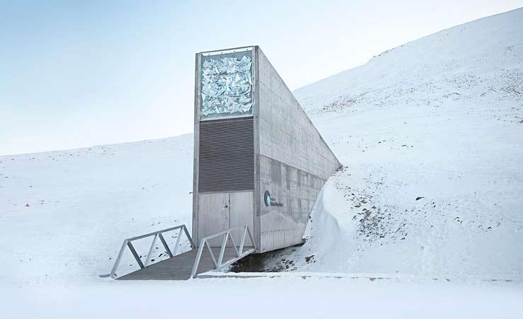 Зернохранилище Судного дня на Шпицбергене