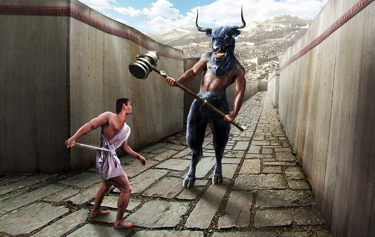 Минотавр – человек c головой быка
