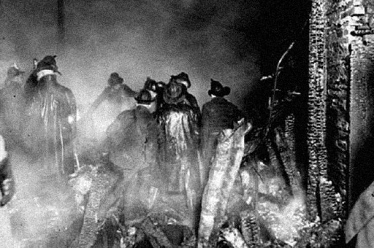 Мистика: отпечатки пальцев погибшего пожарного