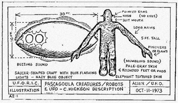 Похищение людей НЛО в Миссисипи