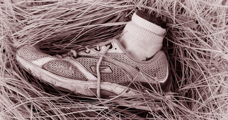 Находки ступней человеческих ног