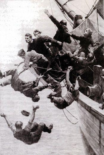 Бунт на корабле - одна из версий событий на Марии Селесте