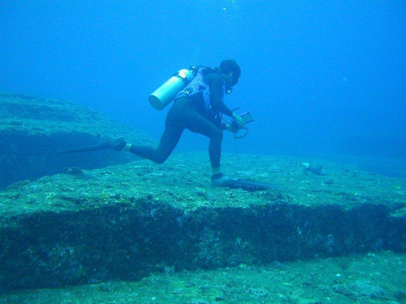 Исследования подводных мегалитов