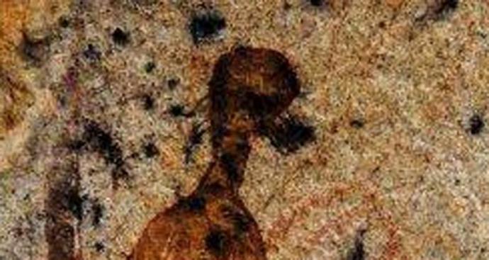 Наскальные изображения пришельцев