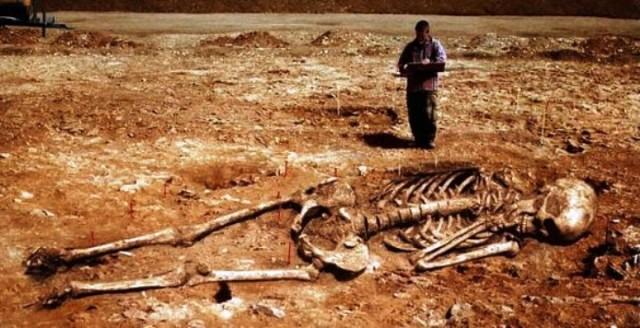 Скелет, найденный в Руанде