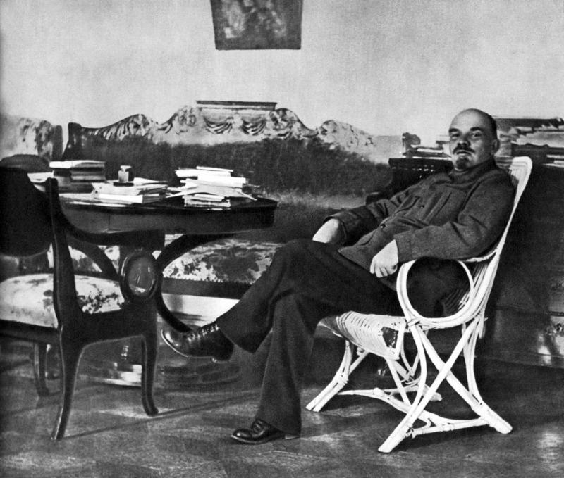 Ленин в Горках, 1922 год