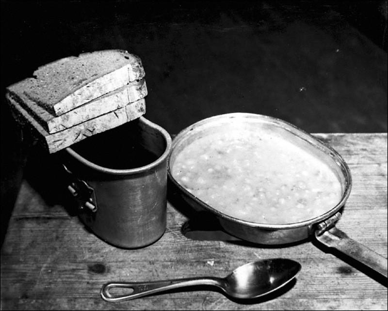 Обед подсудимых Нюрнбергского процесса