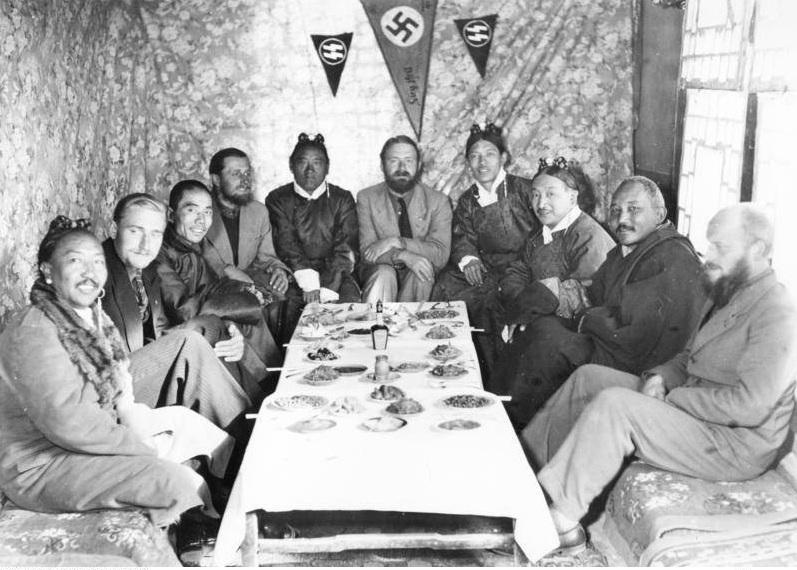 Представители Аненербе в Тибете