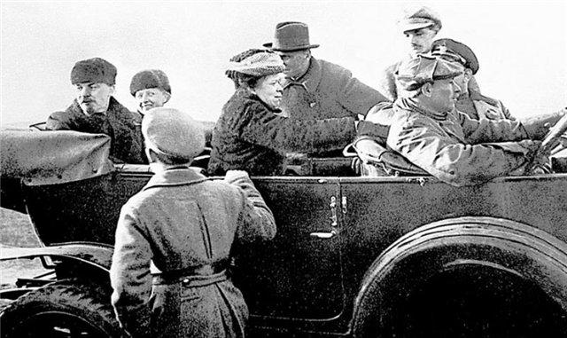 Степан Казимирович Гиль - личный шофер Ленина