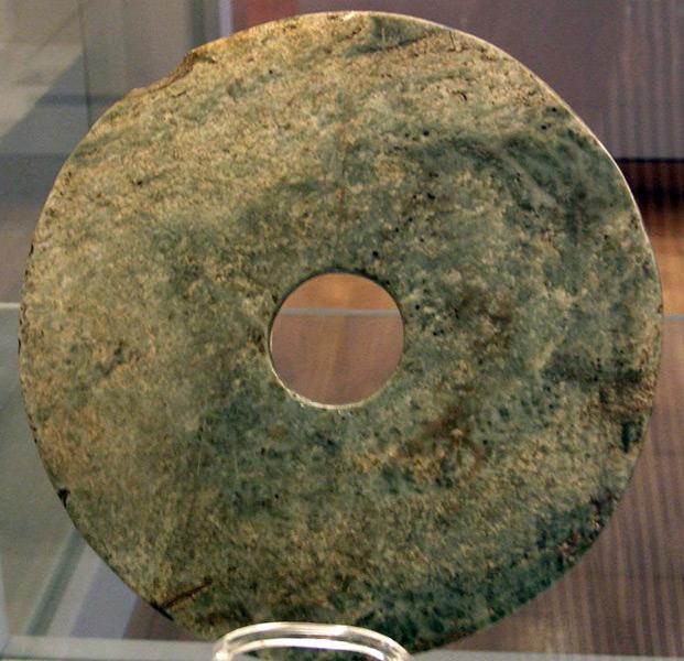 Фото камня из Пекинского музея