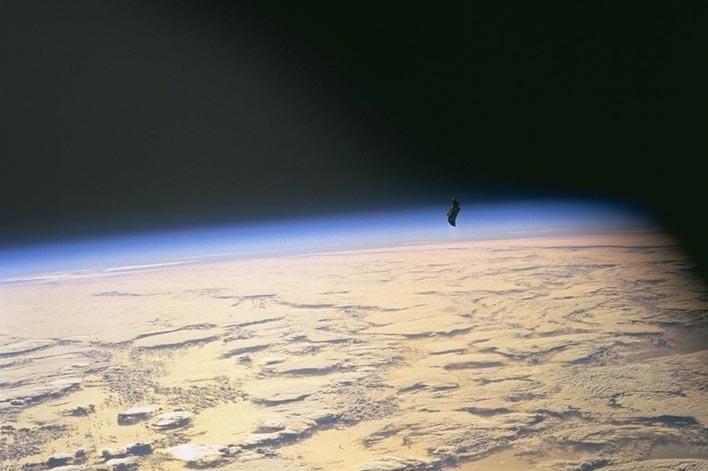 Черный принц. Фото НАСА