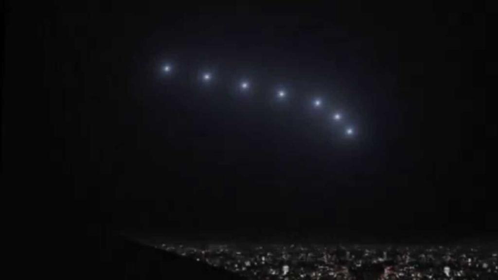 НЛО над Фениксом (увеличено)