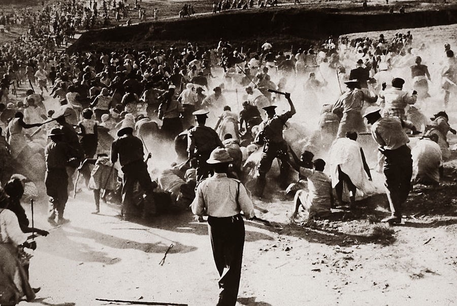 Избиение мирных жителей в Шерпевиле