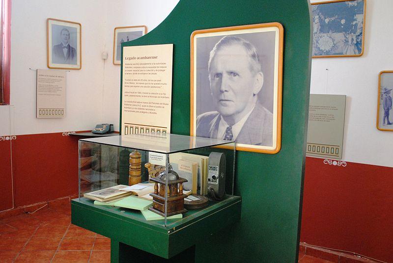 Материалы о Вальдемаре Джульсруде в музее Акамбаро