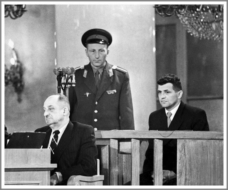Суд над американским летчиком Пауэрсом, 1960 год