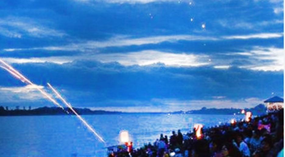 Огненные шары над Меконгом