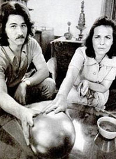 Супруги Бетц с загадочной сферой